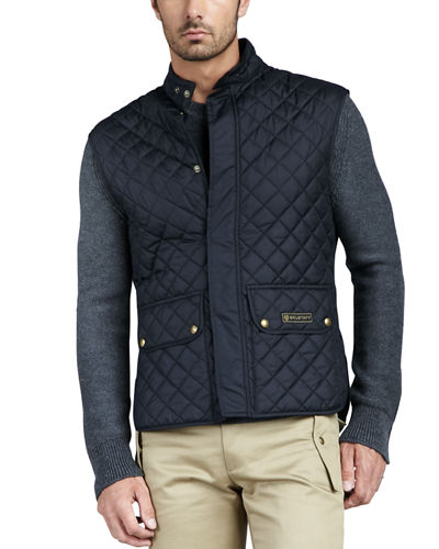Belstaff Lightweight Quilted Tech Vest
