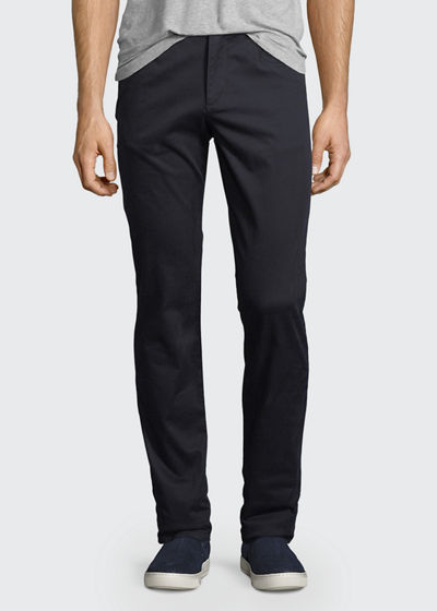 Soho Five-Pocket Stretch-Cotton Pants