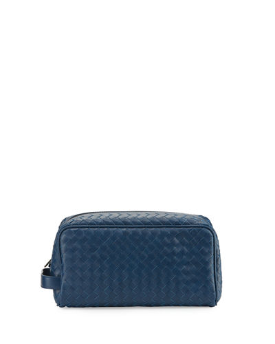 Bottega Veneta Woven Leather Toiletry Kit