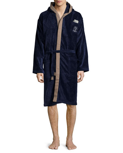 Brunello Cucinelli Men's Cotton Spa Robe