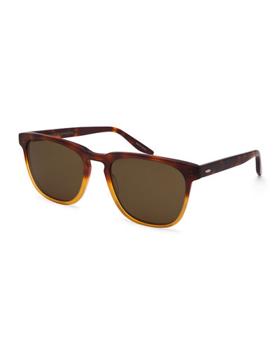 Cutrone Polarized Classic Square Sunglasses
