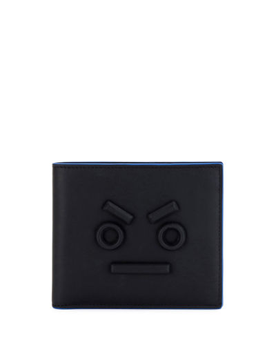 Fendi Face Border Card Case