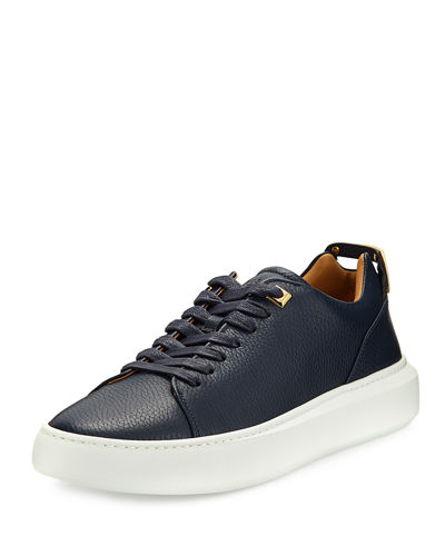 Men's 50mm Leather Low-Top Sneaker