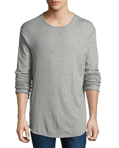 Hartley Long-Sleeve Linen T-Shirt