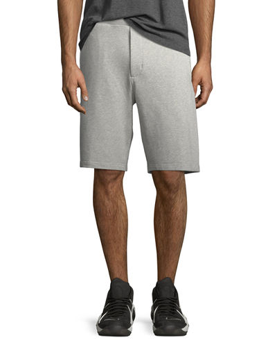 Nikelab Essentials Fleece Shorts, Gray/Black