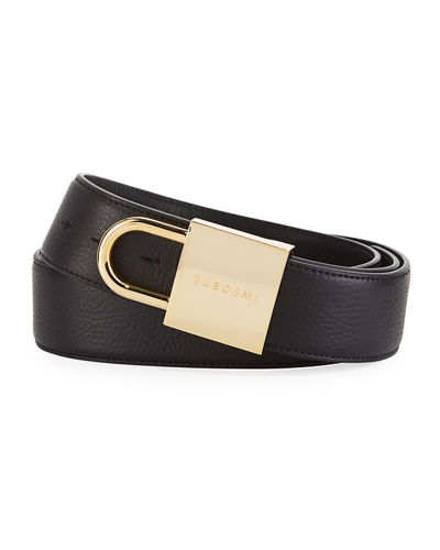 Leather Lock Belt