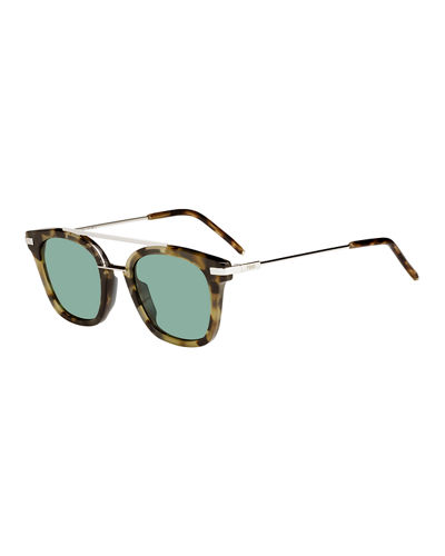 Urban Men's Square Sunglasses