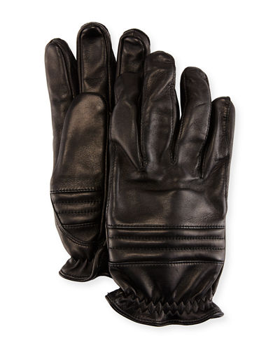 Hestra Gloves Oscar Leather Elastic-Cuff Gloves