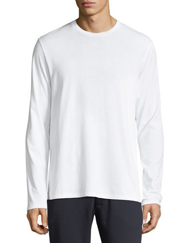 Long-Sleeve Cotton T-Shirt