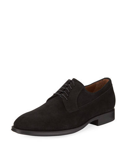 Decker Suede Lace-Up Oxford