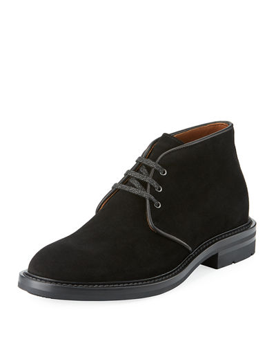 Raphael Suede Lace-Up Boot