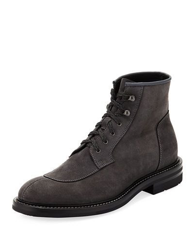 Raymond Suede Lace-Up Boot