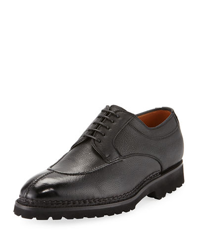 Magnifico Leather Lace-Up Loafer