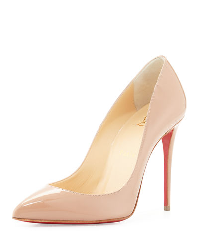 Pigalle Follies Patent Point-Toe Red Sole Pump