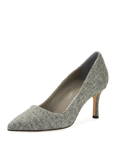 Harris Tweed Pump