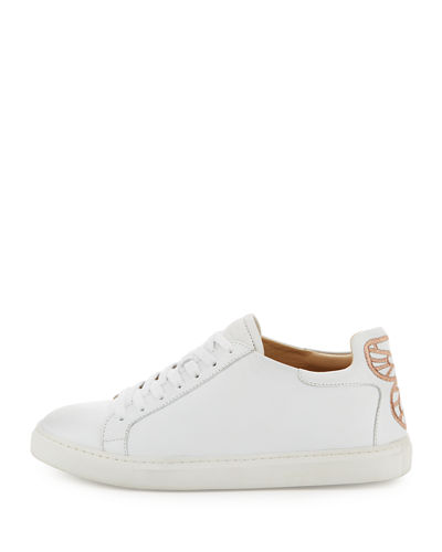 Bibi Butterfly Leather Low-Top Sneaker
