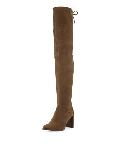 Goodland Suede Over-the-Knee Boot