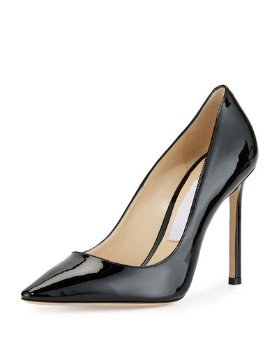 Jimmy Choo Romy Patent Leather 100mm Pump