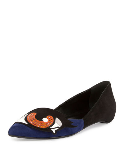 Oh Roy Eye Ballerina Flat