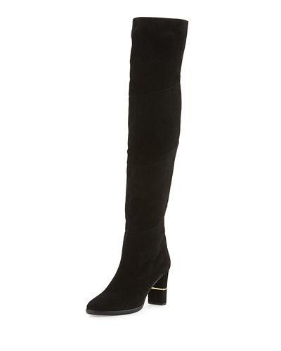 Jimmy Choo Maira Suede Tall Boot