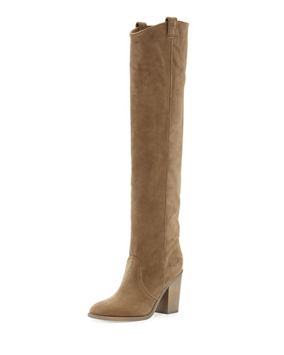 Laurence Dacade Silas Nubuck Over-the-Knee Boot