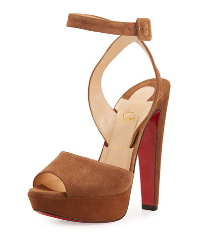 Louloudancing Platform Red Sole Sandal