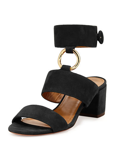 Safari Suede 50mm Sandal