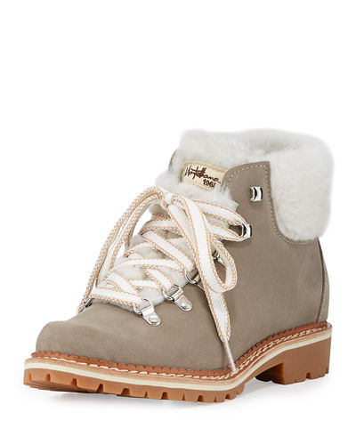 La Montelliana Sequoia Fur-Lined Hiker Boot