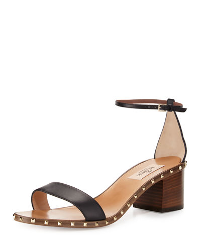 Soul Rockstud Leather City Sandal