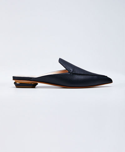 Beya Leather Mule Slide