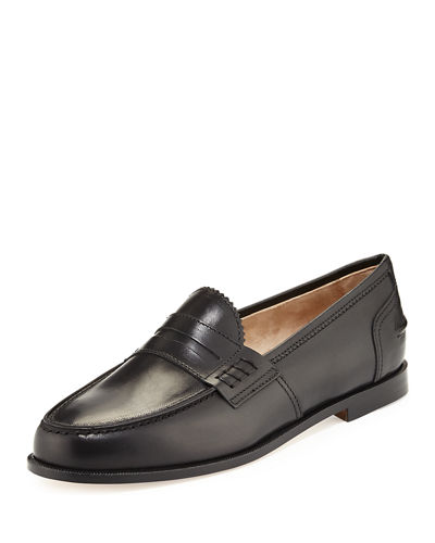 Ellen Leather Penny Loafer