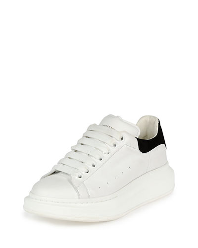 Leather Platform Sneaker