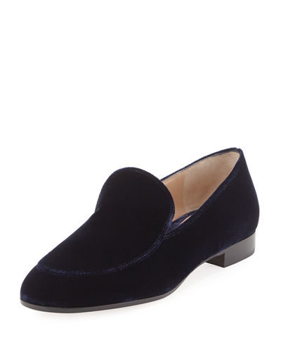Velvet Smoking Slipper