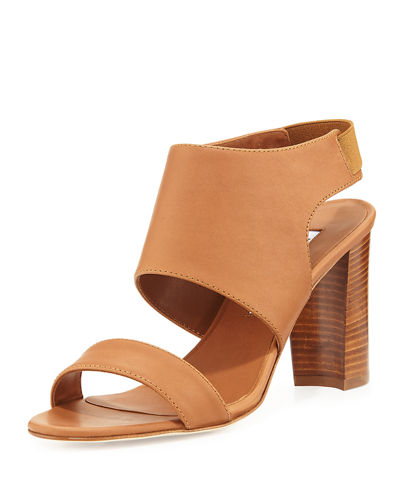 Loyal Leather Block-Heel Sandal