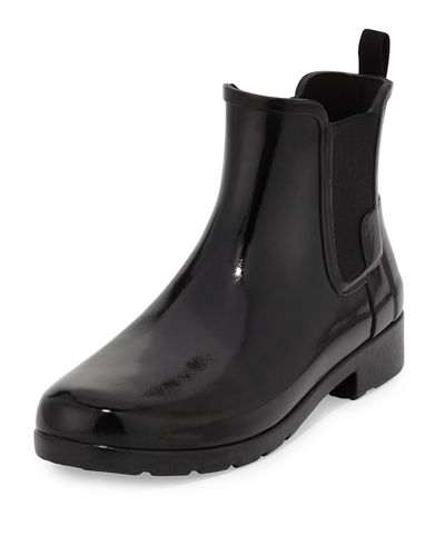 Hunter Boot Original Refined Gloss Chelsea Rain Boot
