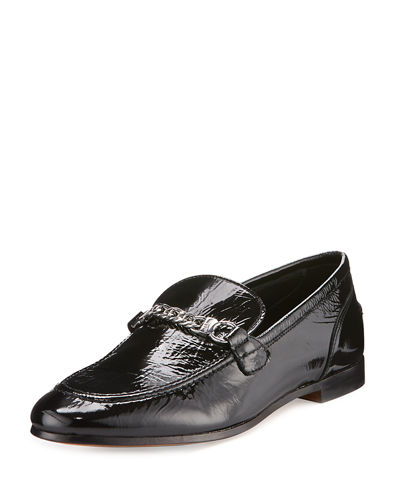 Cooper Patent Chain Loafer