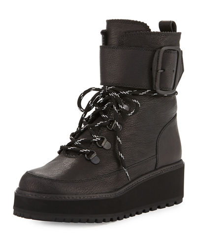 Attackit Leather Hiker Boot