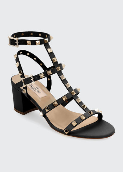Rockstud Leather 60mm City Sandal