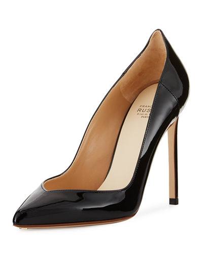 Patent Leather 105mm Pump