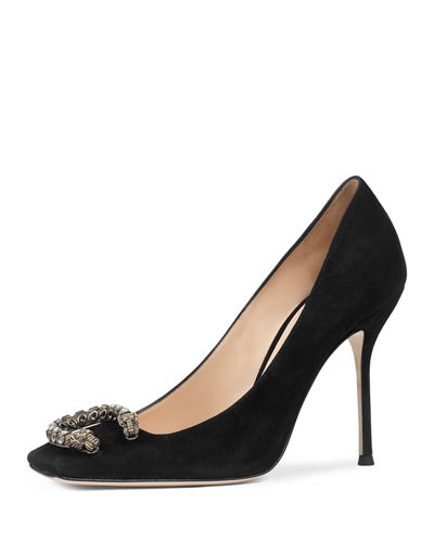 Gucci Dionysus Suede 105mm Pump