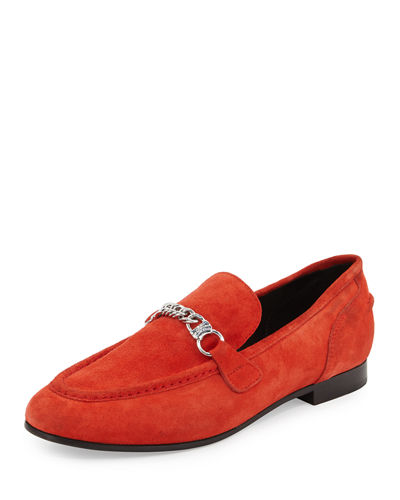 Rag & Bone Cooper Suede Chain Loafer