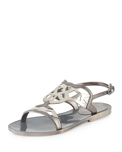 Gelfisher Laser-Cut Jelly Sandal