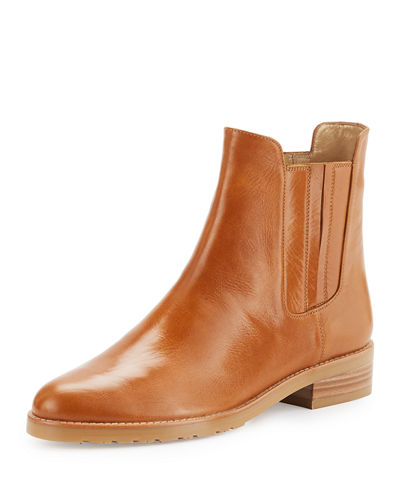 Stuart Weitzman Basilico Leather Chelsea Boot