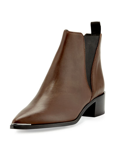 Acne Studios Jensen Pointy-Toe Ankle Boot