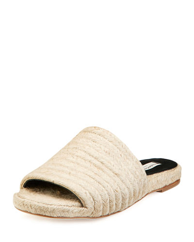 Braided Jute Slide Sandal