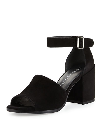 Sohogal Suede City Sandal