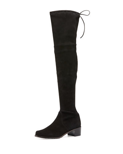 Midland Suede Over-the-Knee Boot