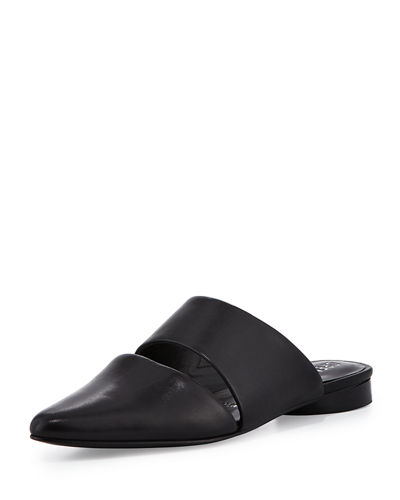Livre Two-Piece Flat Mule