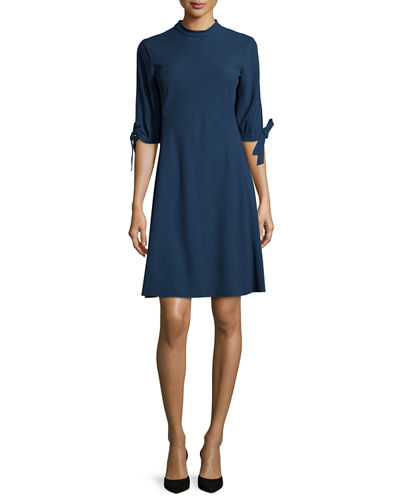 Alvilla Bergen Tie-Sleeve Dress