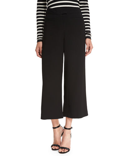 Lee Cropped Wide-Leg Pants